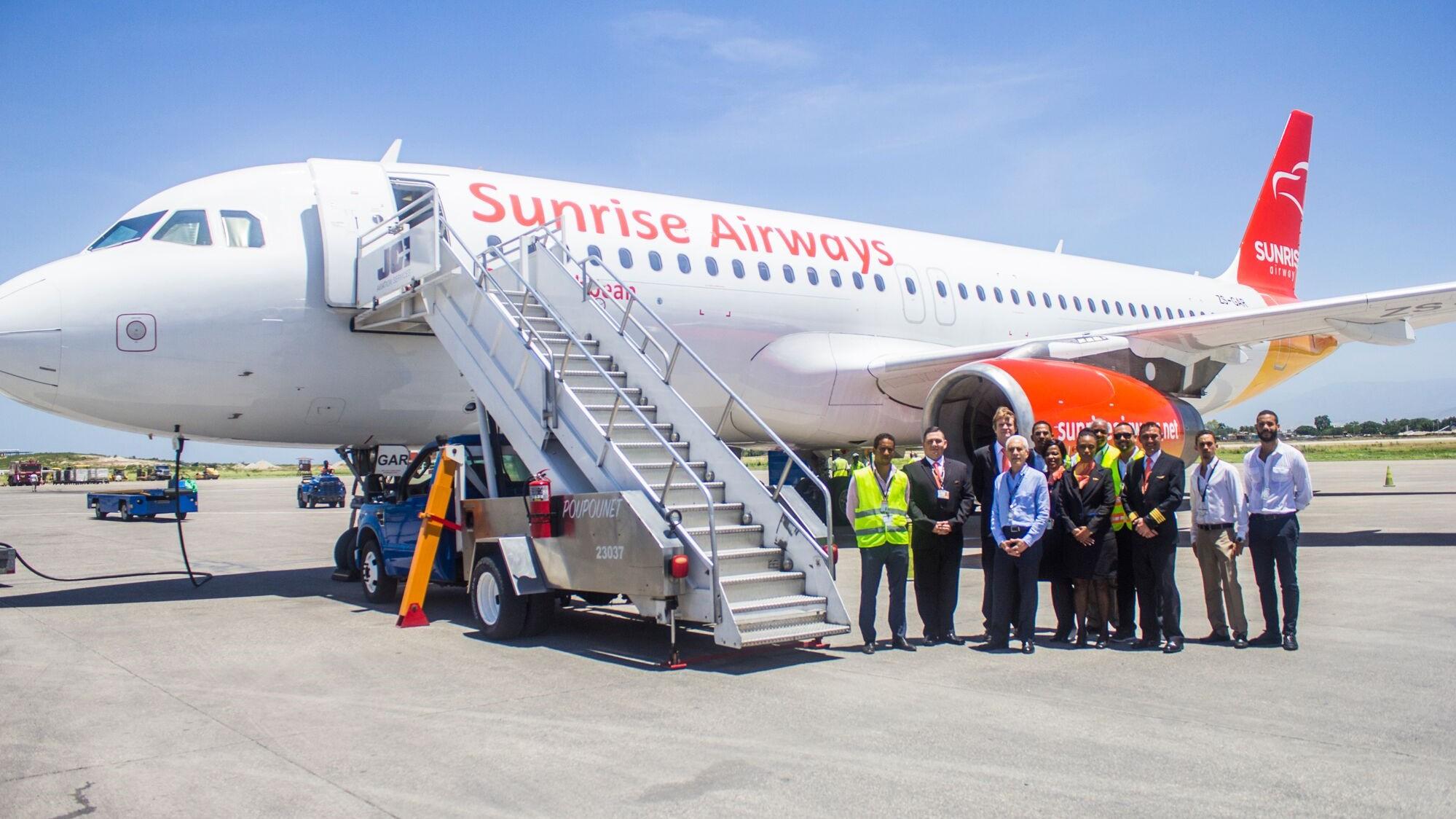 Aerolínea haitiana Sunrise Airways reanuda conexiones con Cuba