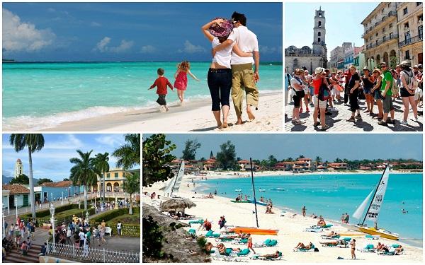 Cuba llegará a 3 millones de turistas la semana próxima