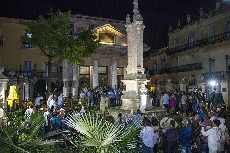 El Templete y la Ceiba acogieron al pueblo en los 500 - Excelencias News Cuba