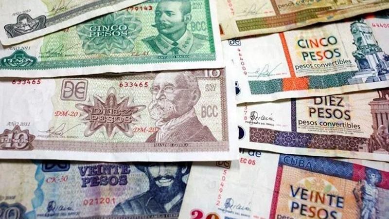 Experimento en implementación de los cambios en pesos cubanos (CUP)