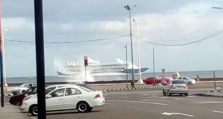 Llega a Cuba el primer crucero alemán de 2020